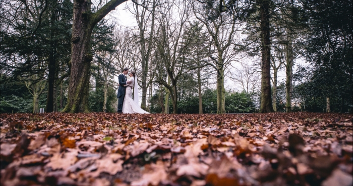 Crathorne Hall Winter Wedding