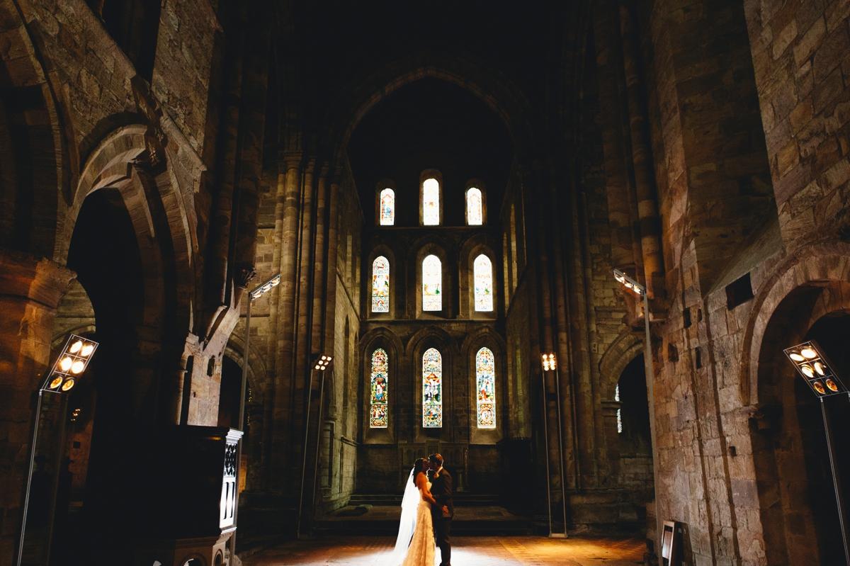 brinkburn priory wedding photos