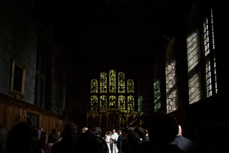 Durham Castle Wedding Photographs by Phil Smith Photography