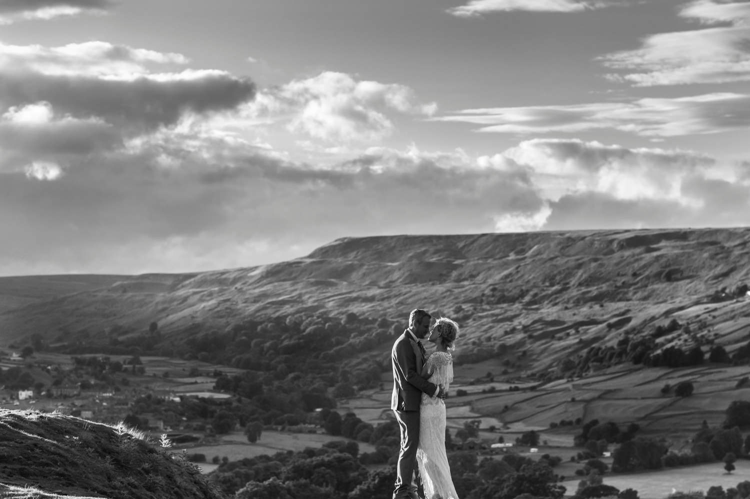 yorkshire weddings at grinton lodge
